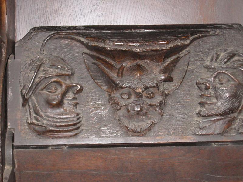 Miseriechords, Holy Trinity Church, Stratford-on-Avon