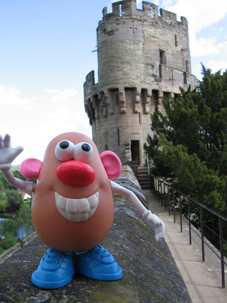 Mr. Potato Head at Warwick Castle