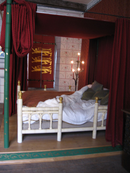The bedchamber of Edward I, St. Thomas' Tower, Tower of London