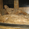 Tomb of Jane, wife of Sir William Waller, Royalist commander at the Battle of Lansdown, 1643, Bath Abbey, Bath