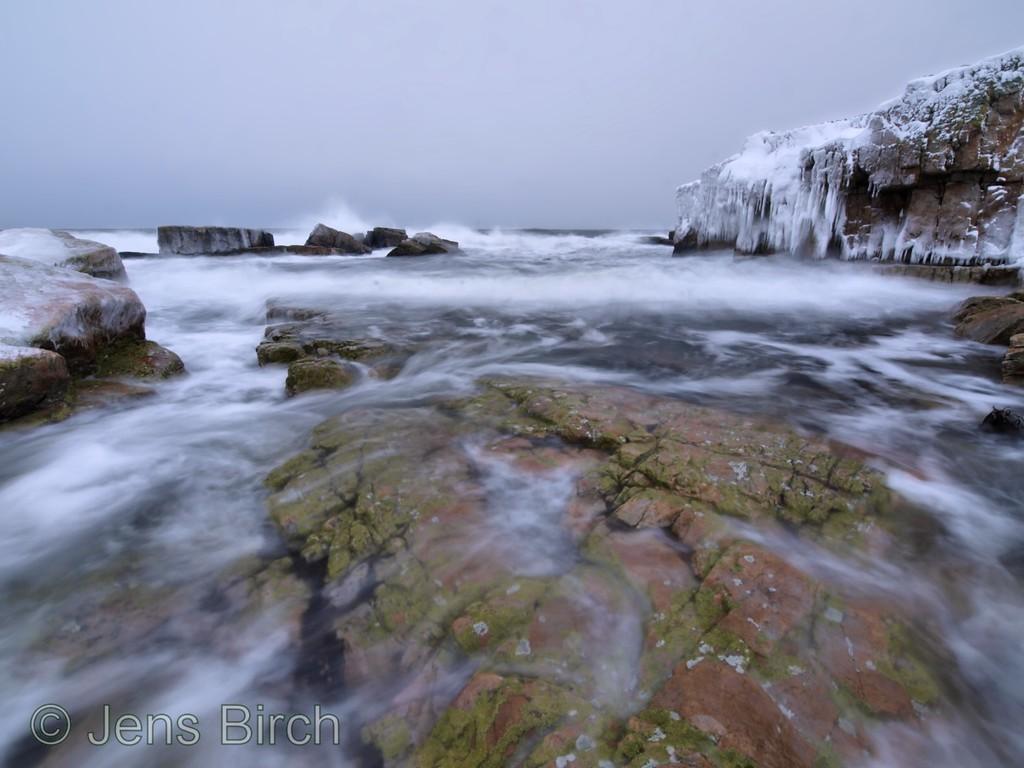 The cold Baltic sea meets a chilly Österlen at Vårhallen, December 2010