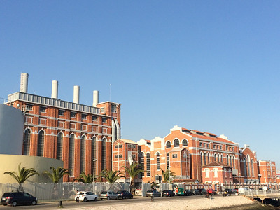 Lisbon's museum of electricity, right on the waterfront in Belem.