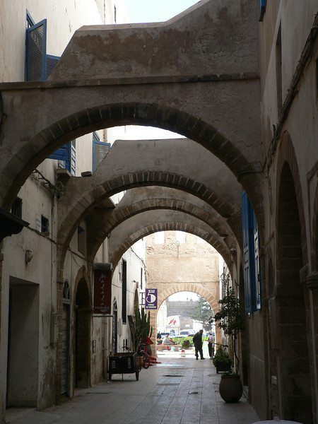 The arches in this side street reminded me of Rhodes old town.