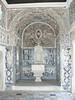 Palácio dos Marqueses de Fronteira - the shell-bedecked entrance to the chapel