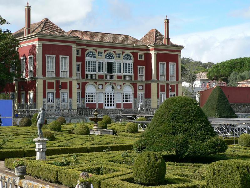 Palácio dos Marqueses de Fronteira - the house