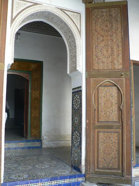 Archways, Palais de la Bahia