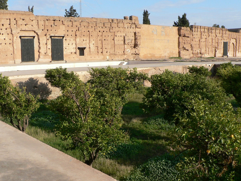 Overview, Palais el-Badi