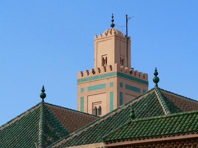 Rooftops in Marrakesh