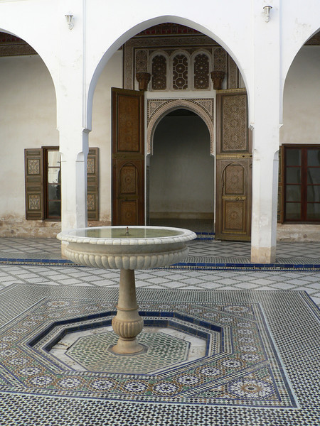 Courtyard at the Palais de la Bahia