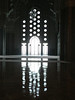 Inside the Hassan II mosque