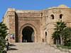 The Bab Oudaia, entrance to the kasbah