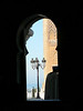Guard outside the Mausoleum of Mohammed V