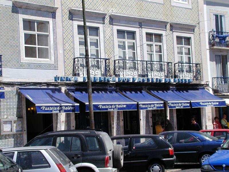 Pasteis de Belém store