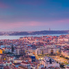 Lisbon Panorama Sunrise.