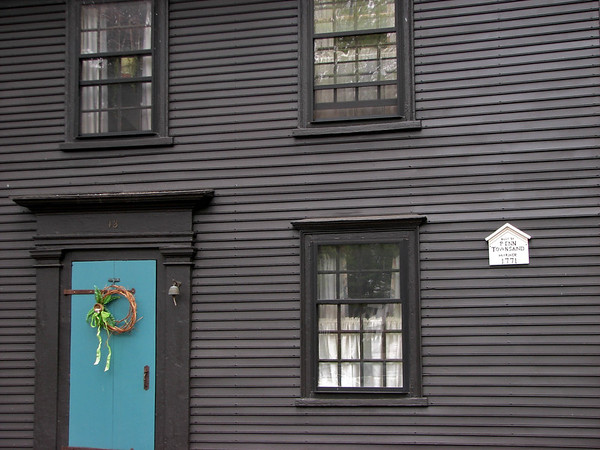House built by Penn Townsand, Mariner, in 1771