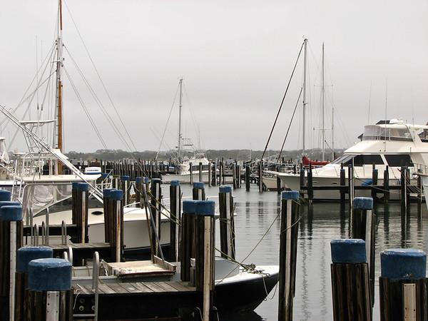 The harbor at Nantucket