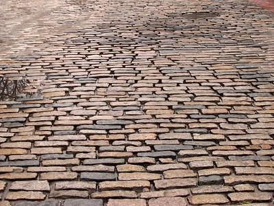 Cobblestone roads