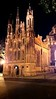 "OAT Trip/Poland-Lithuania-Latvia-Estonia-Russia/13 Sep-02 Oct 2016.  Lithuania.  Vilvius.  The Church of St. Anne, across the street from our hotel.  <br /> <a href=""http://www.vilnius-tourism.lt/en/what-to-see/places-to-visit/churches/church-of-st-anne/"">http://www.vilnius-tourism.lt/en/what-to-see/places-to-visit/churches/church-of-st-anne/</a><br /> <a href=""https://commons.wikimedia.org/wiki/Churches_in_Vilnius_in_alphabetical_order"">https://commons.wikimedia.org/wiki/Churches_in_Vilnius_in_alphabetical_order</a>"