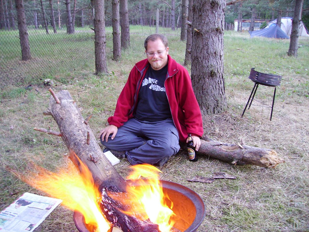 Campfire at Palanga