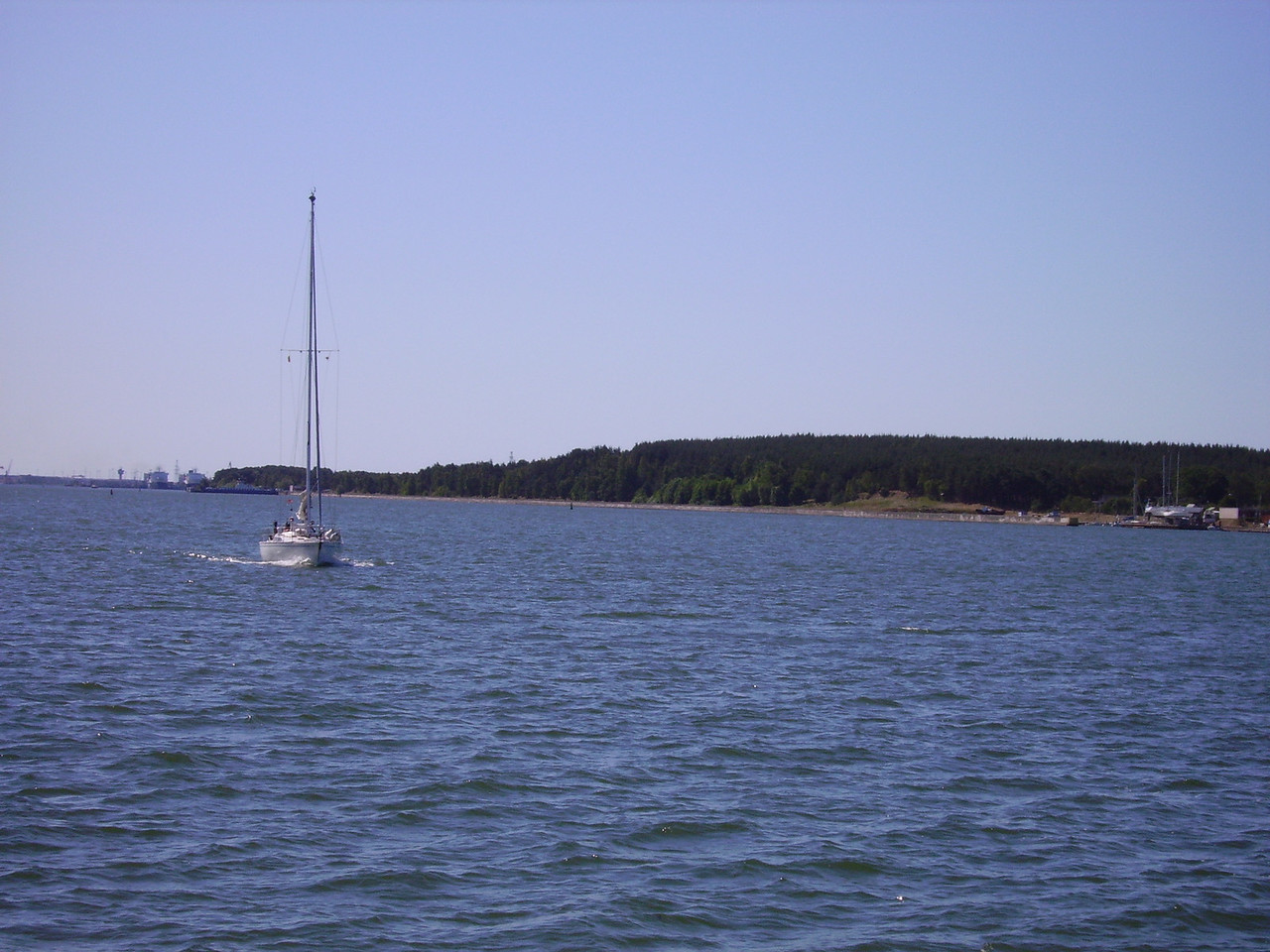 Ferry across to the Curonian Spit