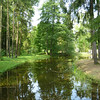 Peaceful gardens in the Lithuanian countryside
