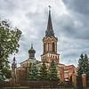 Marijampolės Šv. Vincento Pauliečio bažnyčia. Marijampole St. Vincent de Paul church.