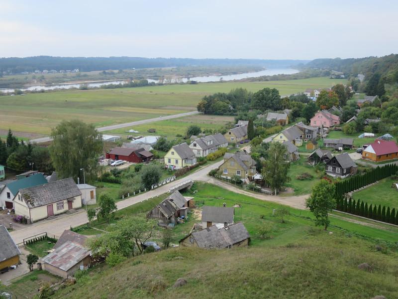 Litouws dorp aan de Memel