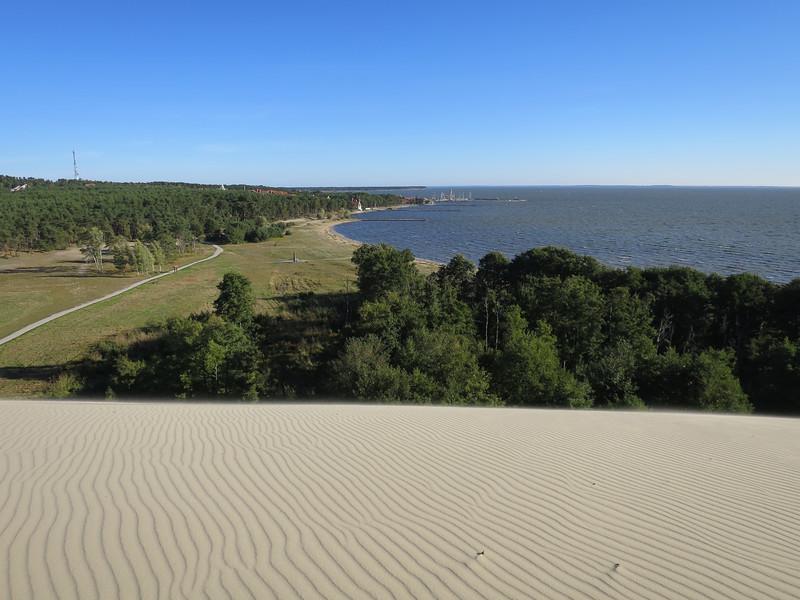 Op wandelend zandduin