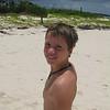 Matthew on Sandy Point