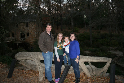 Little Rock, AR - Old Mill Park - Nov 28 2013