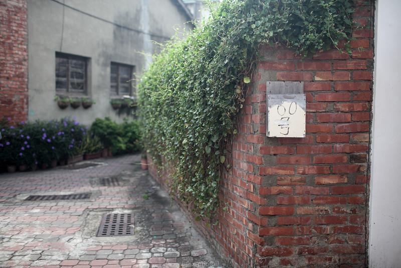 台南。安平巷道。