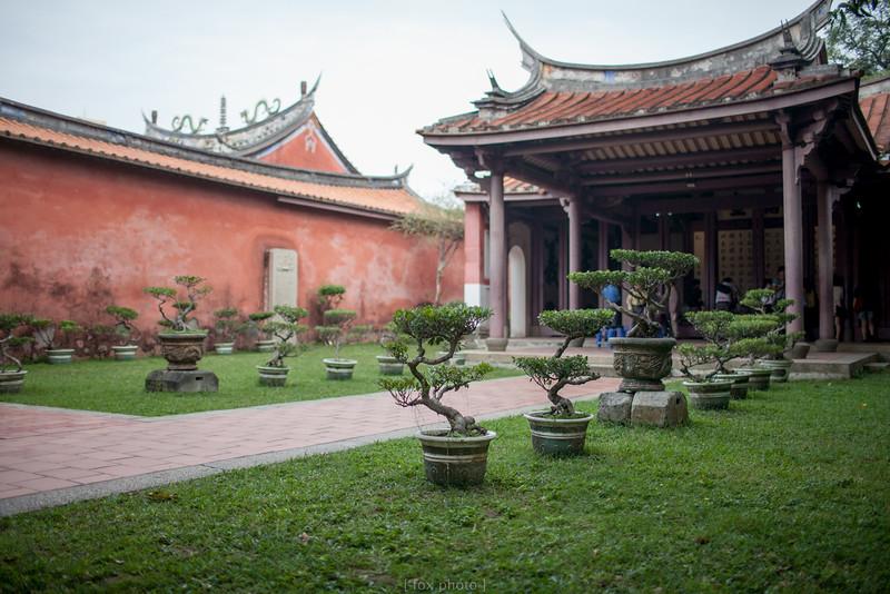 台南。孔廟。