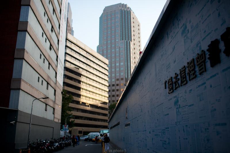 台北街道。