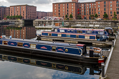 Boats at Albert Dock