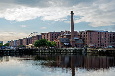 Albert Dock - former wharf warehouses