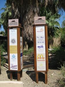 9/4/08  GLC Corporate Sponsorship Tile on display at The Living Desert Zoo & Gardens, Palm Desert, Riverside County, CA.