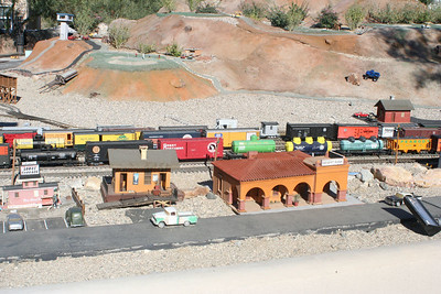 11/13/05  LGB Model Train Display. The Living Desert Zoo & Gardens, Palm Desert, Riverside County, CA.
