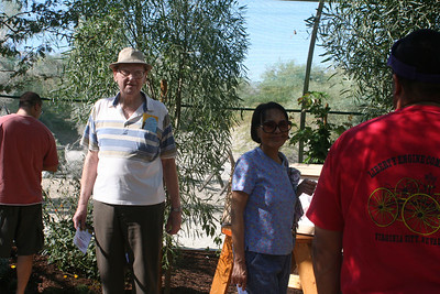 11/13/05 Mom & Dad at the African Wildlife Exhibits. The Living Desert Zoo & Gardens, Palm Desert, Riverside County, CA
