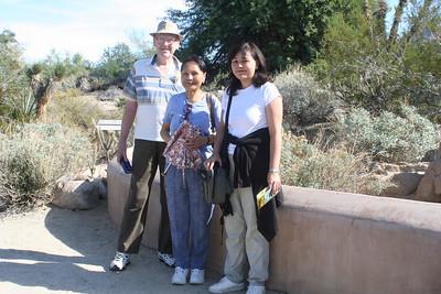 11/13/05 Desert Tortoise enclosure at the Mojave Garden. The Living Desert Zoo & Gardens, Palm Desert, Riverside County, CA