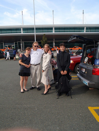 Lizzy, Angus, Eden & Billy tour Newfoundland
