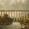 Pontcysyllte a year after completion (Parry, 1806, British Library).