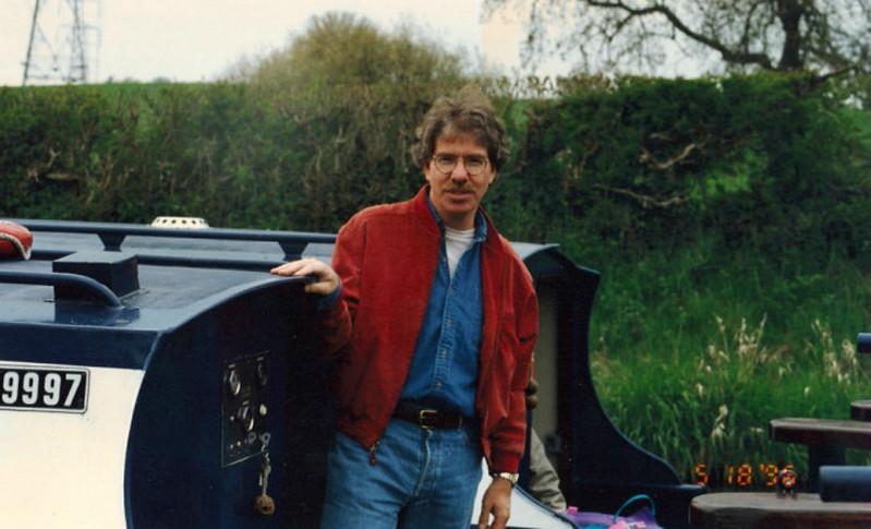 Llangollen Canal in 1996 (Jean).