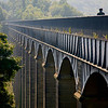 Pontcysyllte Aqueduct was erected in 1805 by Thomas Telford.