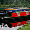 Narrowboats at Llangollen.