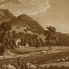 Castell Dinas Bran and Valle Crucis Abbey (Sandby, 1776, British Library).