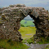 Castell Dinas Bran, or Raven Castle, built by Edward I in 1305.