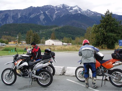 Our first stop of the day in Pemberton, BC.