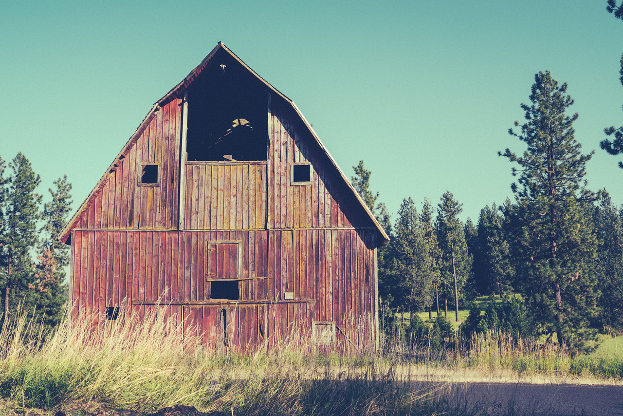 old barn rustic