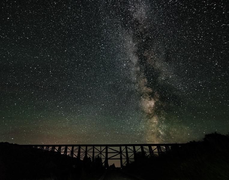 Railway To The Milky Way