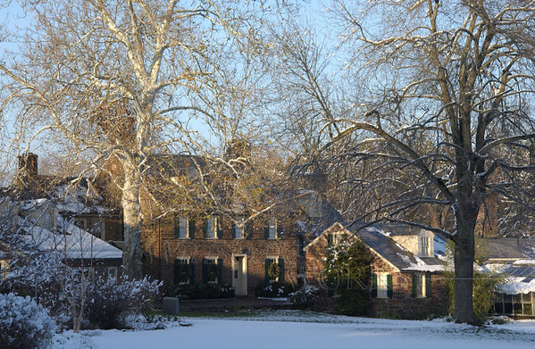 Pearl Buck House in Winter